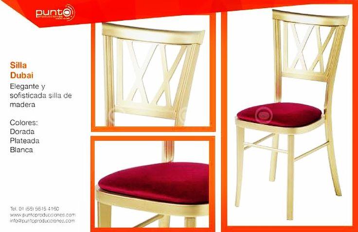 Dale un toque asiático a tu #Evento con estas elegantes sillas tipo #Dubai y siéntete como en un ostentoso palacio #Árabe   #PuntoProducciones #OrganizadoresDeEventos #Mobiliario #Estilo #Bodas #XVAños