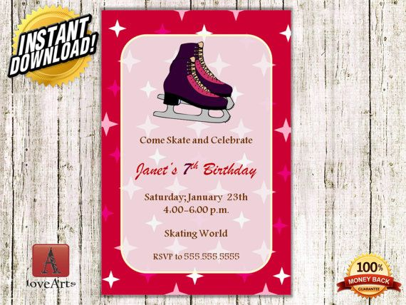 Hey, I found this really awesome Etsy listing at https://www.etsy.com/listing/249225617/instant-download-ice-skating-invitation