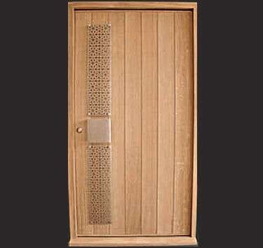 Modern designer external door home interior decorating for Modern wooden main door design