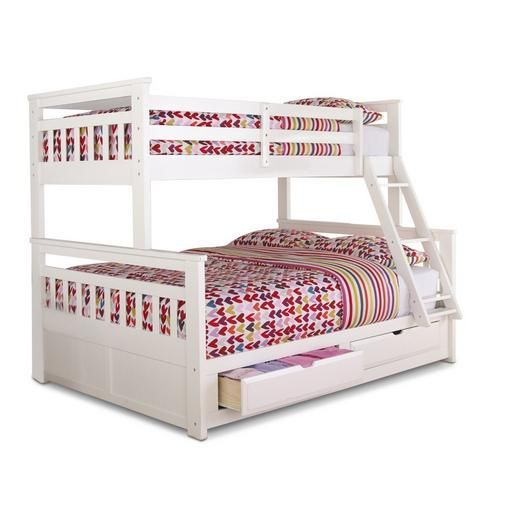 Buy 'Springsdale' Twin-Over-Double Storage Bunk Bed Online & Reviews