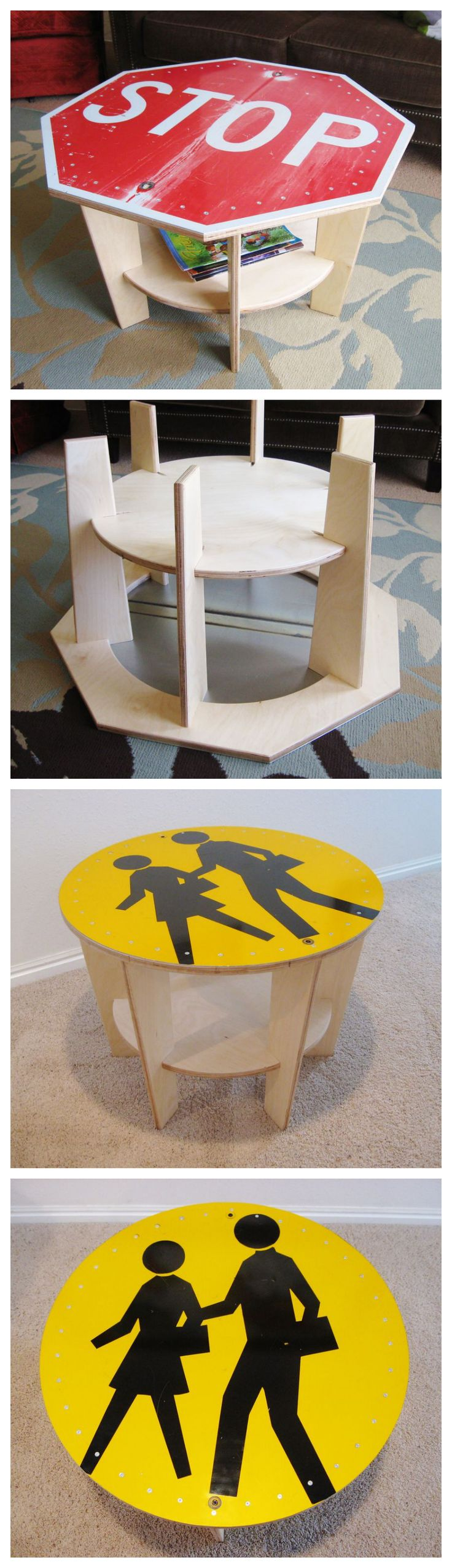 Street Sign Coffee Table