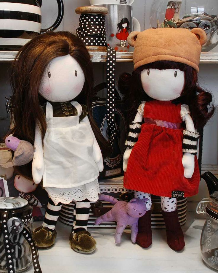 Gorjuss Cloth Doll