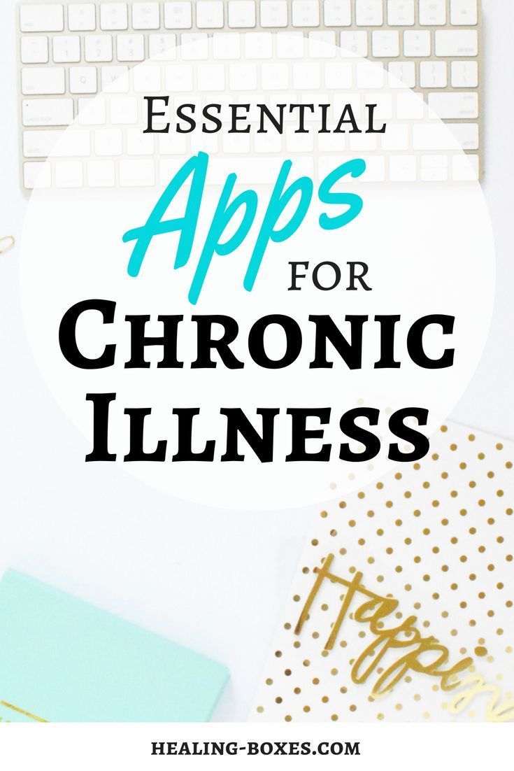 Essential Apps for chronic illness, patients and carers // Healing Boxes