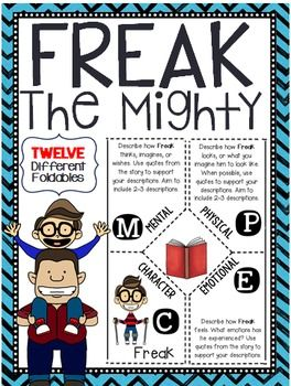 "Freak the Mighty and ""Ability"" Extended Response Essay"