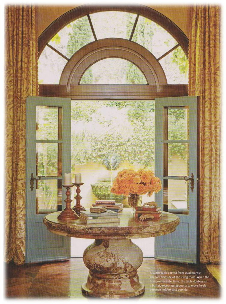 Foyer Table With Doors : Best ideas about round foyer table on pinterest