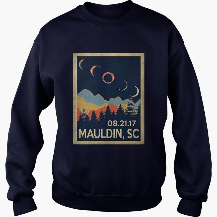 Vintage Mauldin South Carolina #Solar #Eclipse 2017 Tshirt, Order HERE ==> https://www.sunfrog.com//135973563-979718792.html?89701, Please tag & share with your friends who would love it, #jeepsafari #christmasgifts #renegadelife