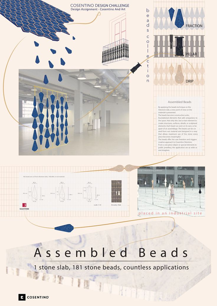 Assembled beads -  Proyectos finalistas diseño 2014 / Design finalist projects 2014 #CosentinoDC9 (Ediciones anteriores / Past Editions) http://www.cosentinodesignchallenge/