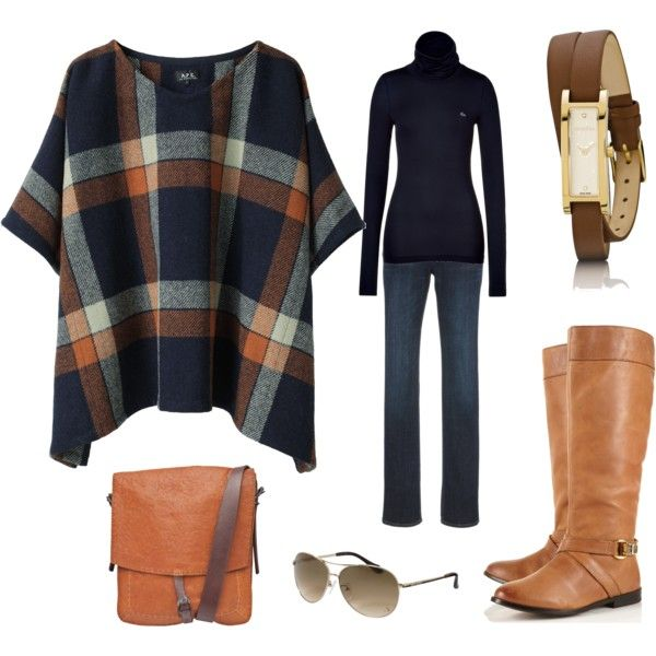 just.get.me.thru.the.airport, created by jacquehenson on Polyvore (would like the poncho better as a wrap)