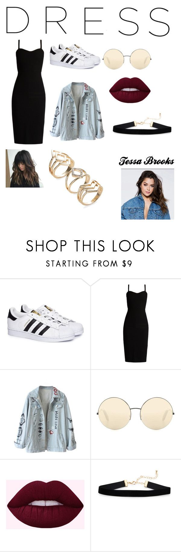 """""""Inspired by Tessa Brooks"""" by fshioncrazy ❤ liked on Polyvore featuring adidas, MaxMara and Victoria Beckham"""