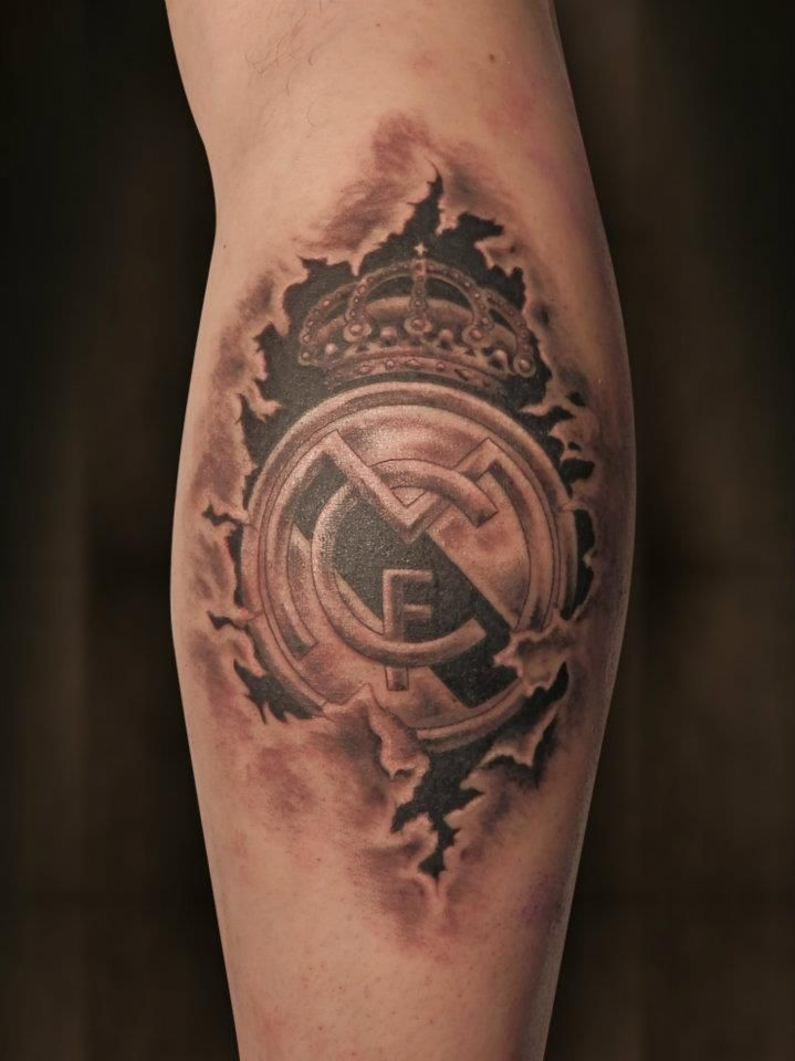 Real Madrid    That is dedication!!! Hala Madrid! I love this.. WIL HAVE A MADRID CREST TATTOOED ON ME ONE DAY.