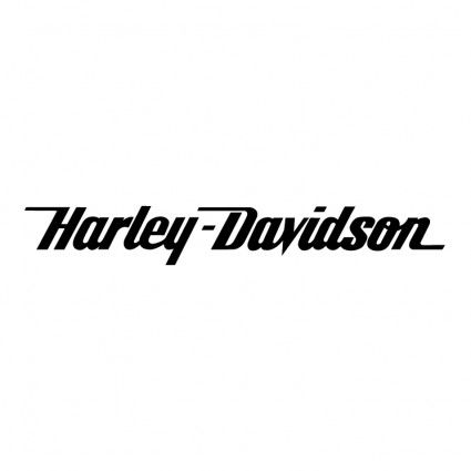 Harley Davidson Logo Black And White harley-davidson old logos free vector in adobe illustrator ai ...