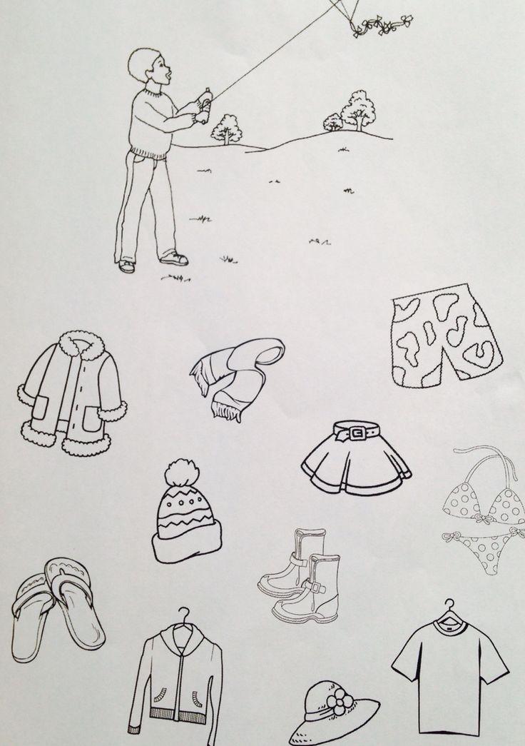 ÚKOL: Vybarvi oblečení, které si oblékneš na podzim