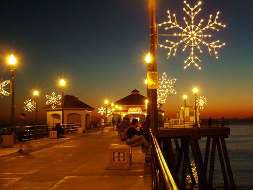 https://flic.kr/p/eNUU | Christmas on the Pier | Huntington Beach, CA