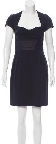 Alessandro Dell'Acqua Short Sleeve Mini Dress