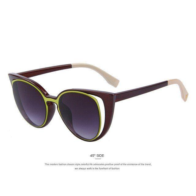 Vintage Sonnenbrille Damen Herren Übergroße Rimless Transparente Gradient Sunglasses Mode Brillen Unisex (C7) RLTD7zep9v