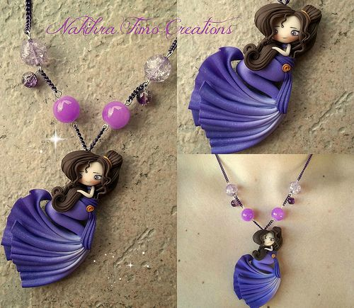 Mermaid Megara polymer clay