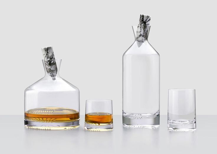 DPAGES Review Part II - London Design Festival 2016 - Alba Decanter Collection for Nude. Design by Joe Doucet. #LDF16