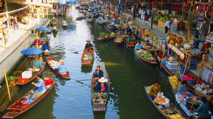 Alışveriş Yapmaya Doyamayacağınız Şehirler: Bangkok!