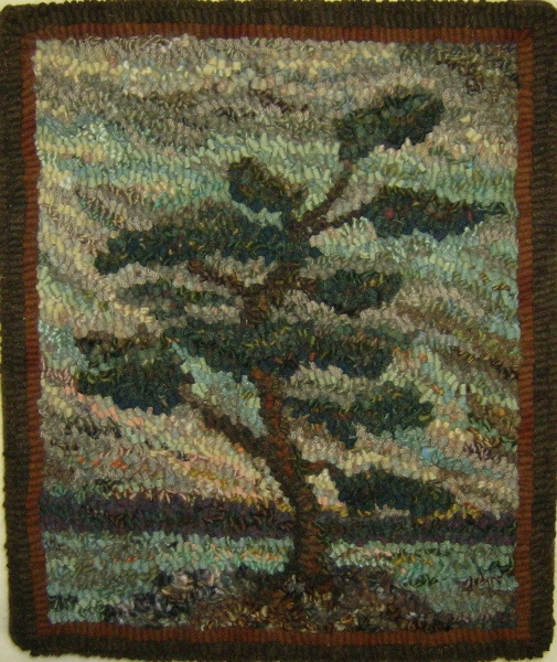 G7 Tree by Loretta Moore - must be inspired by the Group of Seven painters!
