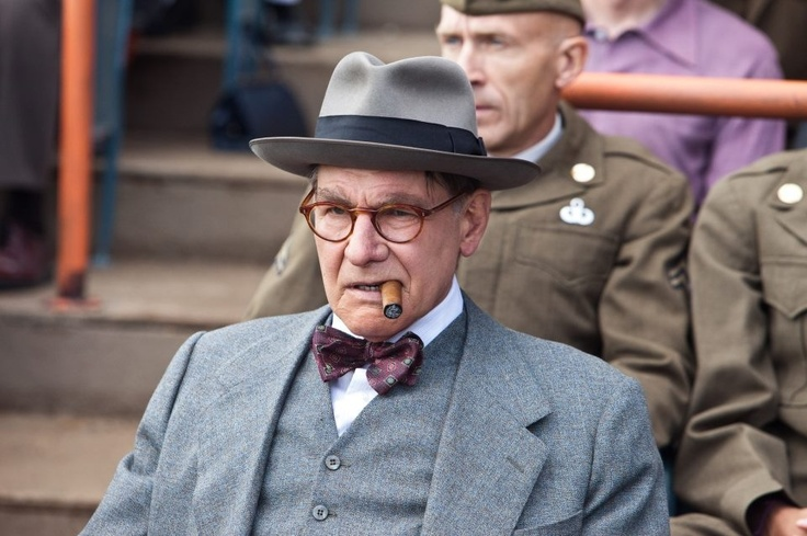 """Harrison Ford in stellar performance as Branch Ricky in """"42"""""""