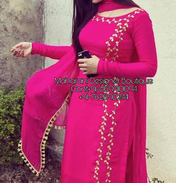 Salwar Suits Online Delhi Maharani Designer Boutique Embroidery Suits Design Punjabi Suits Designer Boutique Kurti Designs Party Wear