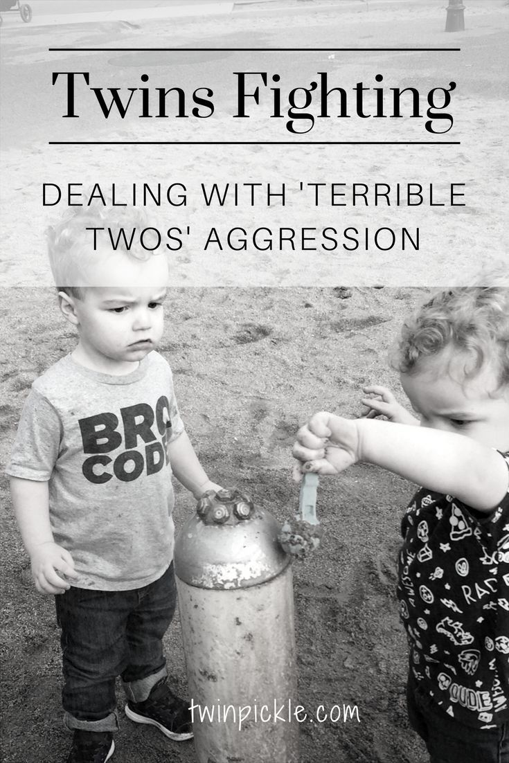 As I wade through the 'terrible twos', is there anything to be done about twins fighting? Why are they falling out and how do I stop them from getting hurt? #twins #toddlers #terribletwos