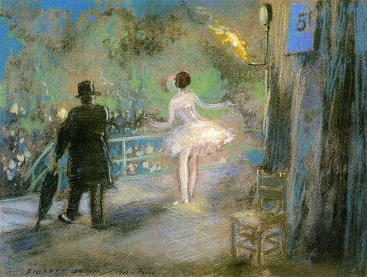 Everett Shinn - Paris Exposition