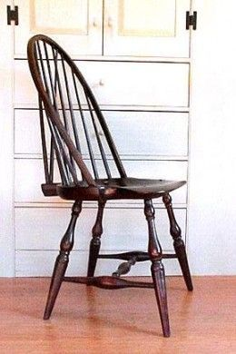 antique windsor chair identification and half rocker authentic chairs a guide to identifying bow back