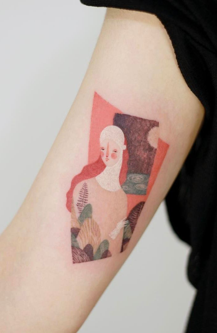 Tattooist Doy