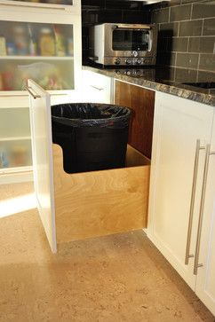 Kitchen Trash Cans Design, Pictures, Remodel, Decor and Ideas - page 3