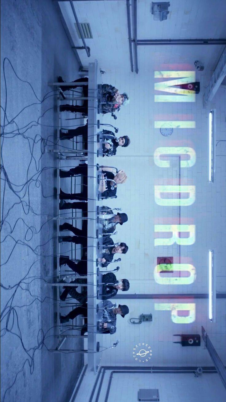 Wallpaper - BTS - Mic drop