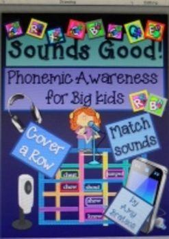 "Phonemic Awareness for Grades 2-5- ""Sounds Good!""-Game and Sorting regular and irregular vowel sound letter patterns"
