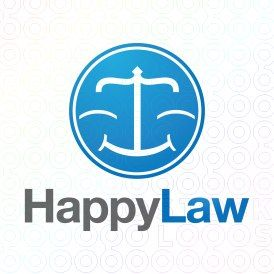 Exclusive Customizable Logo For Sale: Happy Law | StockLogos.com https://stocklogos.com/logo/happy-law