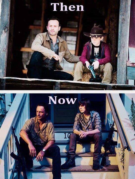 Rick and Carl