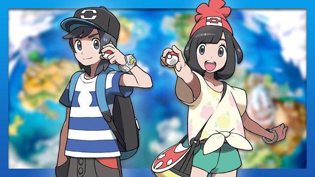 Pokemon Sun and Moon Trailer