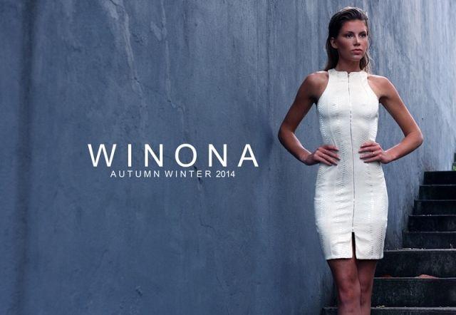WINONA AUSTRALIA snake instincts zipper dress    www.winonaaustralia.com