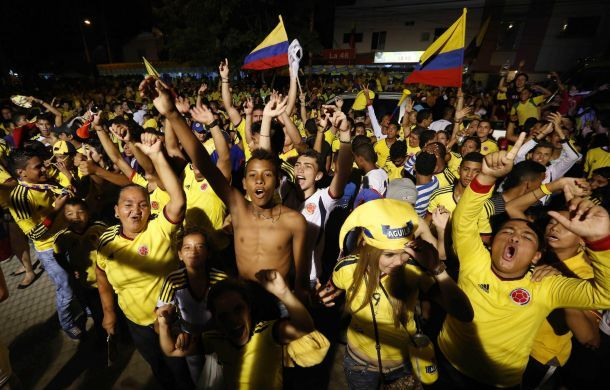 Colombia Supporters! #worldcup