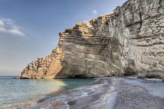 Cape Columbo  Beach Santorini, Greece
