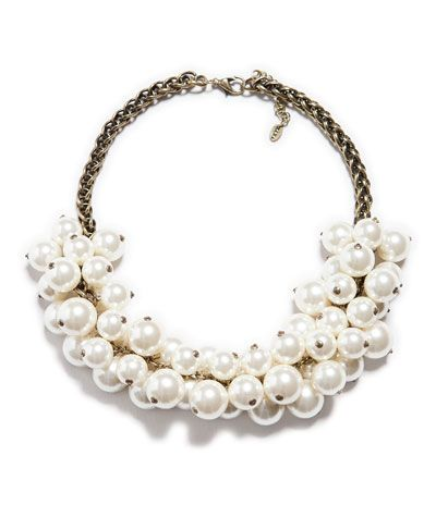 MAXI PEARL NECKLACE - Accessories - Accessories - Woman - ZARA United States