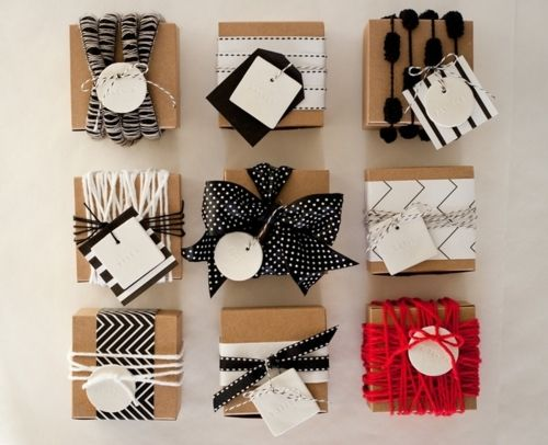 Interesting and easy - love how many different ways you can tie ribbons