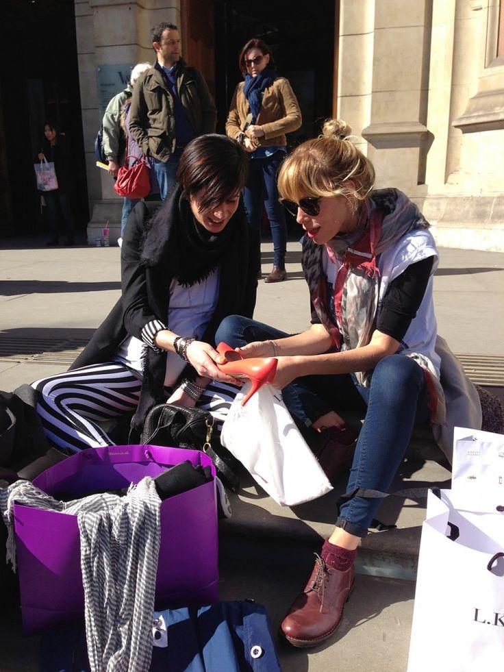 London style #AlessiaMarcuzzi #pashminas