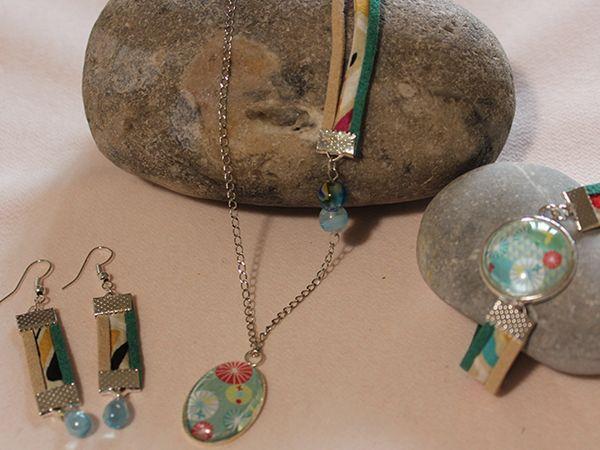 Parure de bijoux Précieux éventails