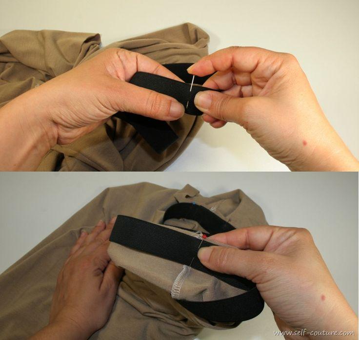 taille elastique apprendre couture