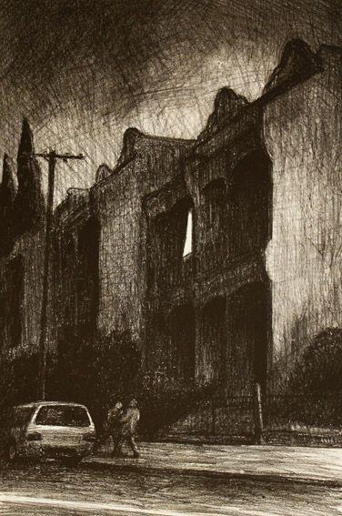 Rick Amor Terraces, 2010 lithogrpaph