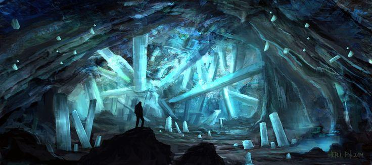 Crystal Cave By Eru17 On Deviantart Ilustraci 243 N De