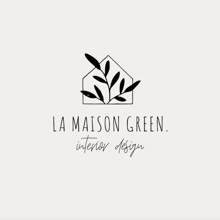 Premade botanical logo design, Flower logo ,Business brand design, Wedding custom logo, Branding package, Cottage logo, Photography logo