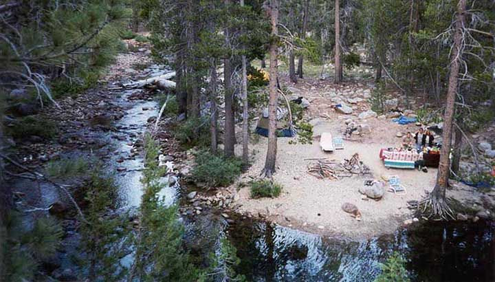 Camping at yosemite creek campground how amazing is that for Yosemite park camping cabins