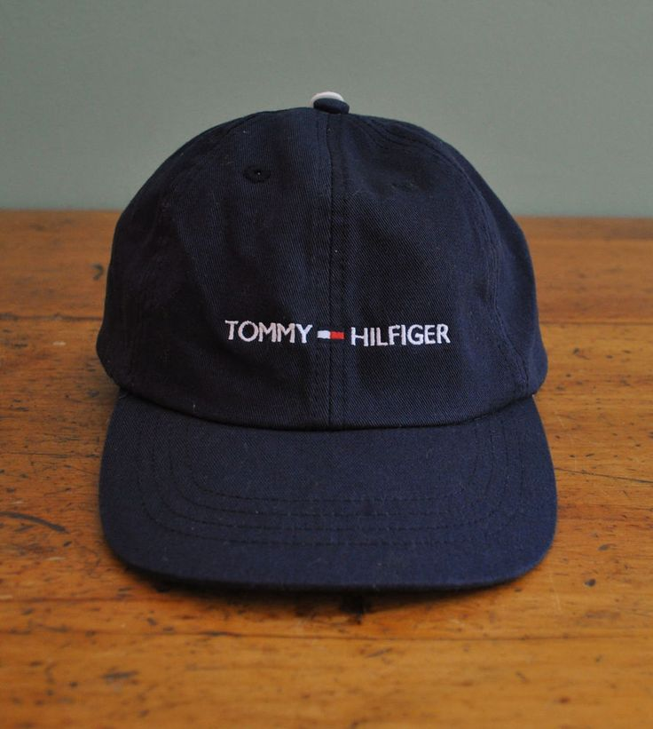 Tommy Hilfiger Navy Blue Hat Cap New with Tags 2002 One Size 8-20 0269c698f8b8