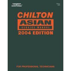 Asian Service 2000-2004 Manual Tools Equipment Hand Tools. Chiltons Book Company. Asian Service 2000-2004 Manual. 147601.