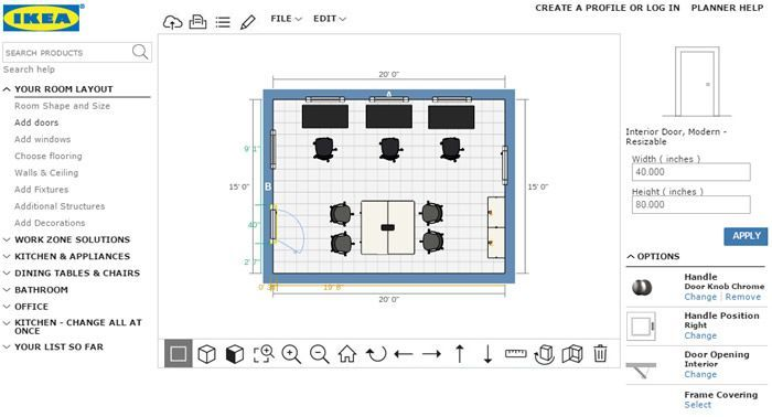 Office Planner Online Homeofficedesignlayoutikea Office Online Planner Room Layout Planner Interior Design Layout Office Planners
